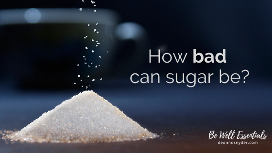 How Bad Can Sugar Be?