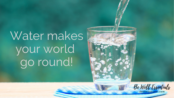 Water Makes Your World Go Round!